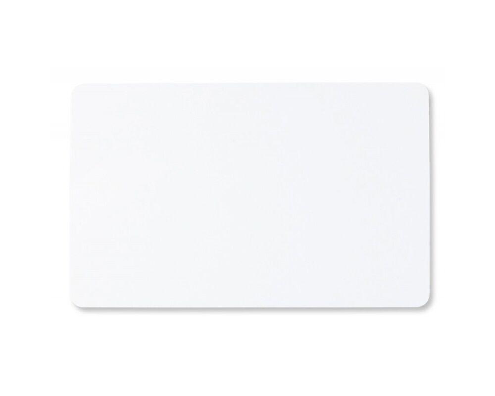 Λευκή πλαστική κάρτα