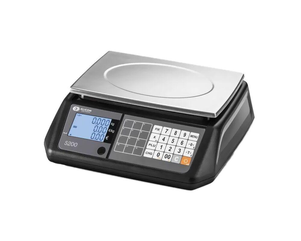 Ζυγαριά λιανικής πώλησης με υπολογισμό τιμης – Elcom s200B