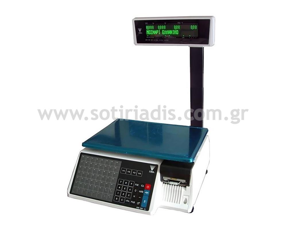 Ζυγαριά λιανικής με ετικέτα DIGI SM-100 PCS PLUS
